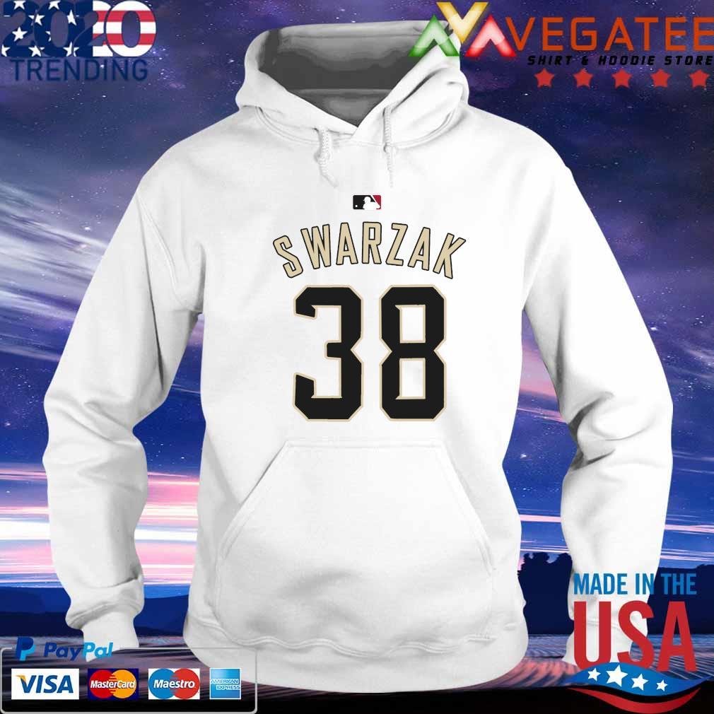 RHP Anthony Swarzak MLB Jersey Numbers 38 s hoodie