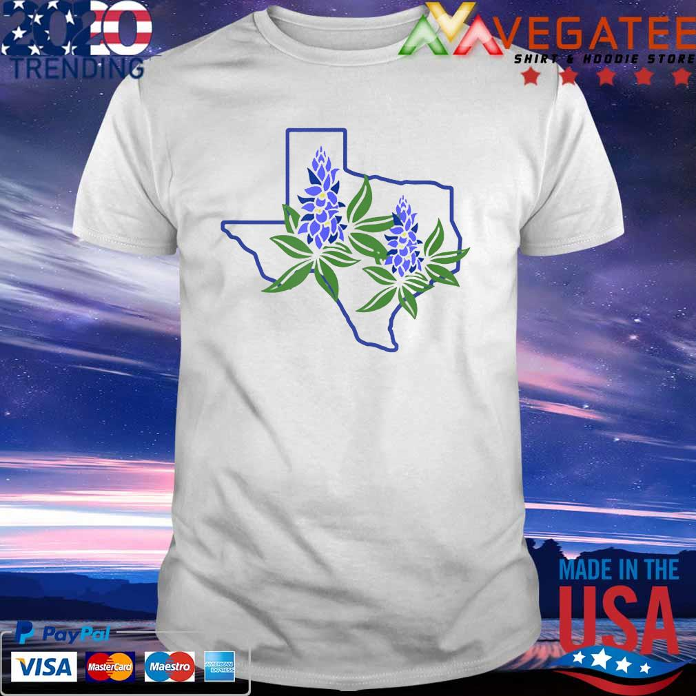 Texas Bluebonnet Wildflowers Shirt