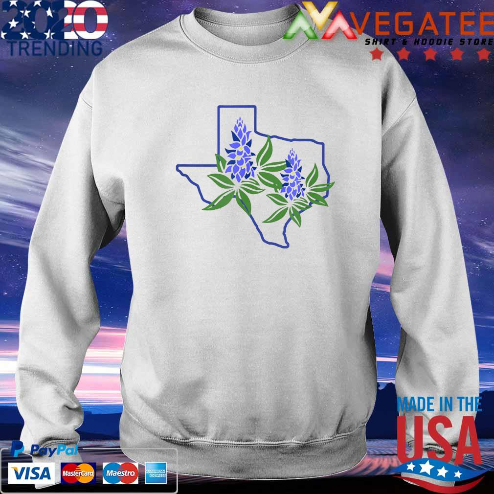 Texas Bluebonnet Wildflowers Shirt Sweatshirt