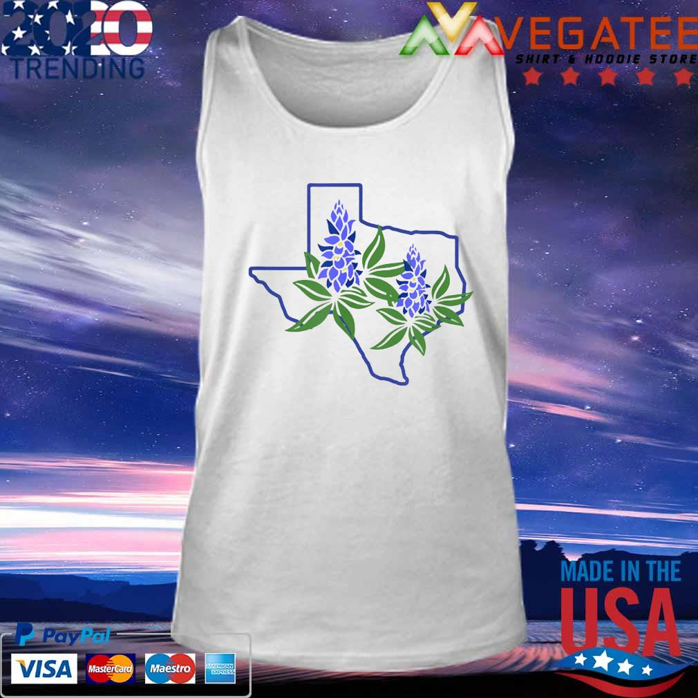 Texas Bluebonnet Wildflowers Shirt Tank top