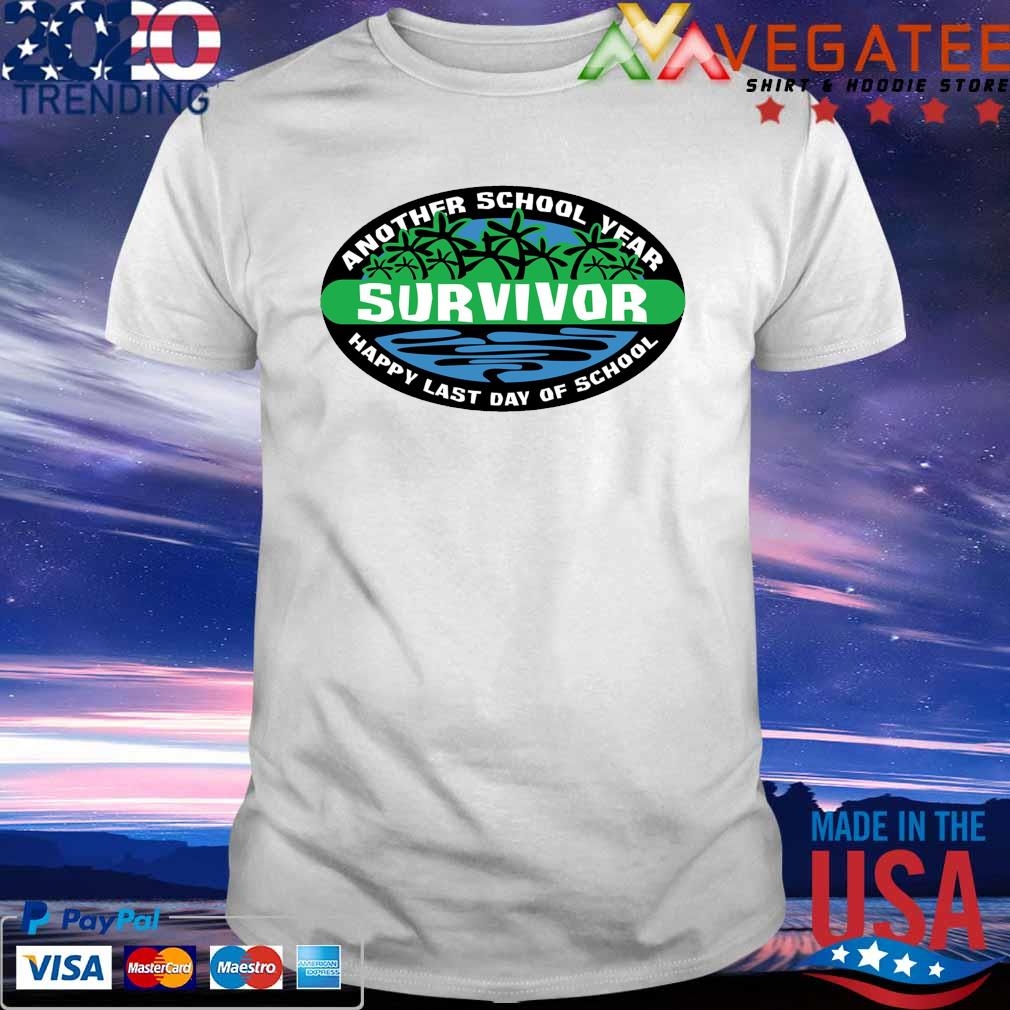 Official Another School Year Survivor Happy Last Day of School 2021 shirt