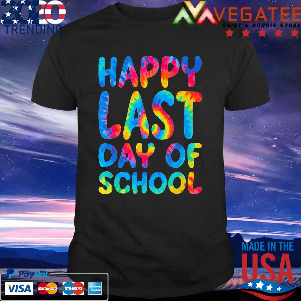 Official Happy Last Day School colorful shirt