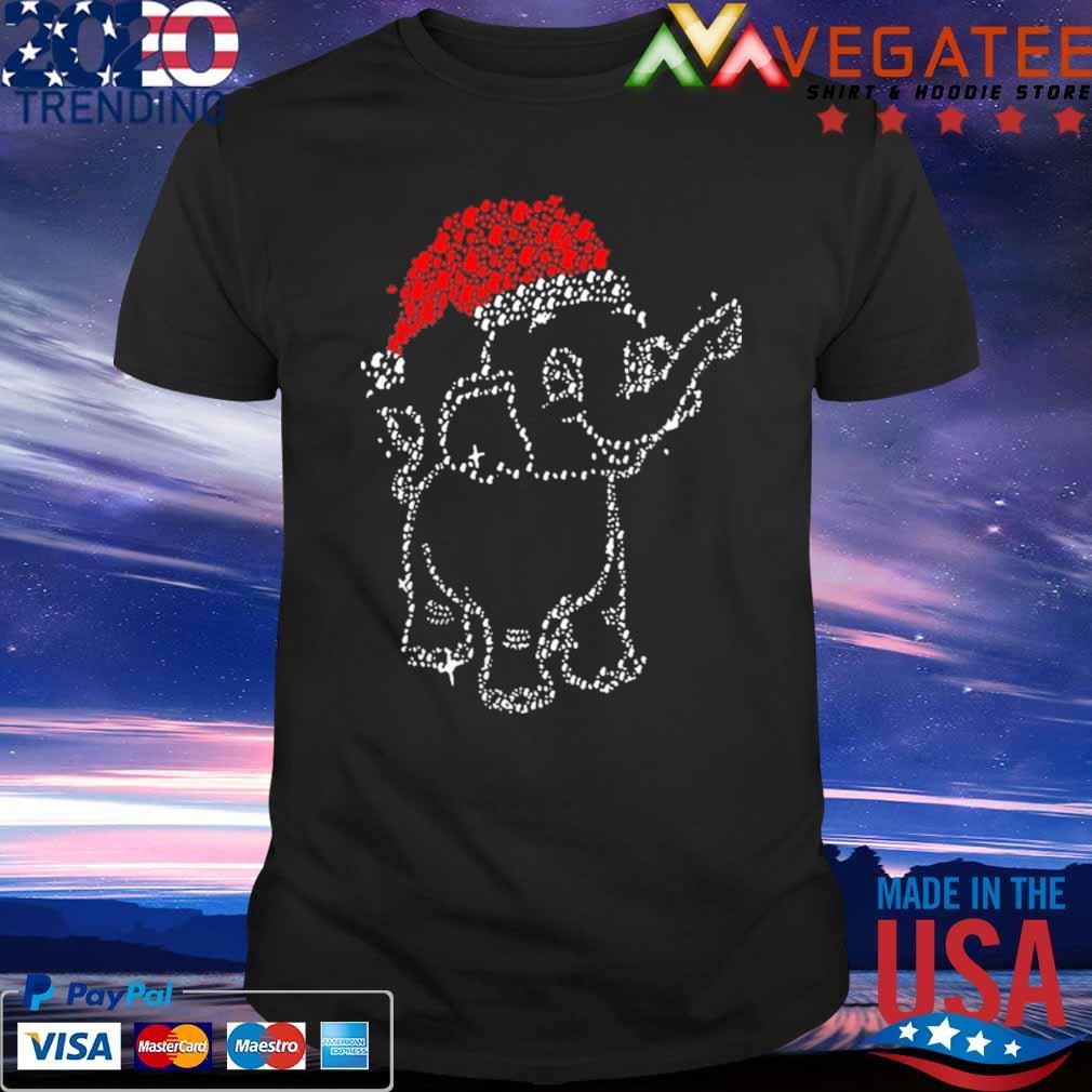 Cute Elephant Santa Love Merry Christmas Shirt Masswerks Store